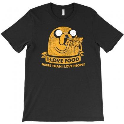 I Love Food T-shirt Designed By Budi