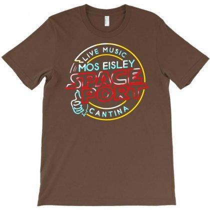 Space Port T-shirt Designed By Mdk Art