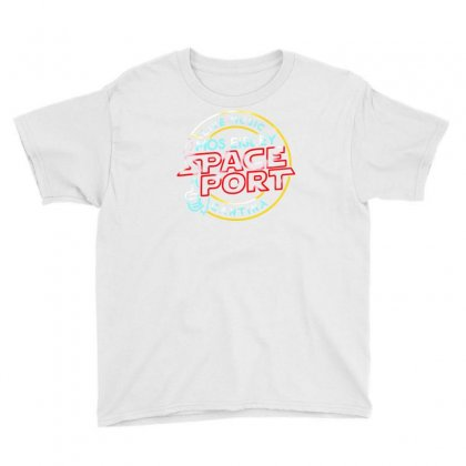 Space Port Youth Tee Designed By Mdk Art