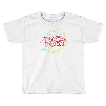 Space Port Toddler T-shirt Designed By Mdk Art