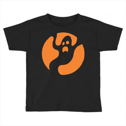 Halloween Ghost Toddler T-shirt Designed By Sbm052017