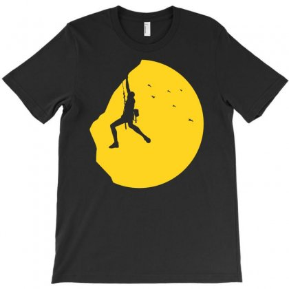 Adrenaline Addict Rock Climbing T-shirt Designed By Budi