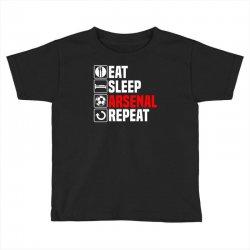 eat sleep arsenal Toddler T-shirt   Artistshot