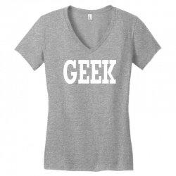 geek Women's V-Neck T-Shirt | Artistshot