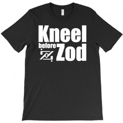 Kneel Before Zod T-shirt Designed By Budi