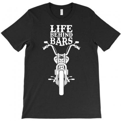 Motorbike Life Behind Bars T-shirt Designed By Budi