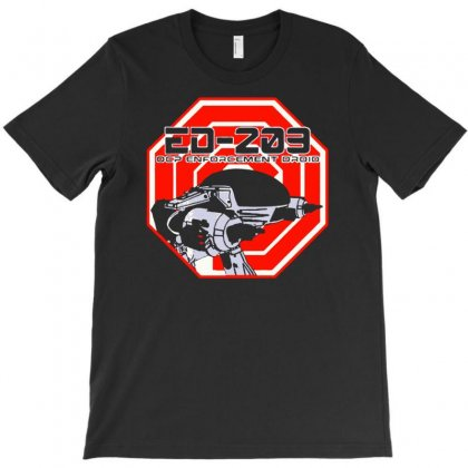Ocp Ed 209 Enforcement Droid T-shirt Designed By Budi