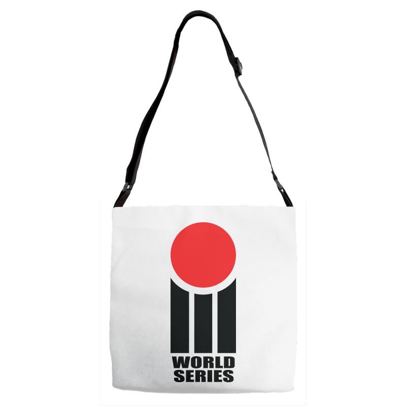 fe9ff24abc24c0 Custom World Series Cricket Retro Adjustable Strap Totes By ...