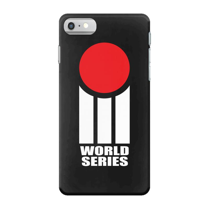 0bcc7215b8d6ab Custom Retro Cricket Iphone 7 Case By Designbysebastian - Artistshot