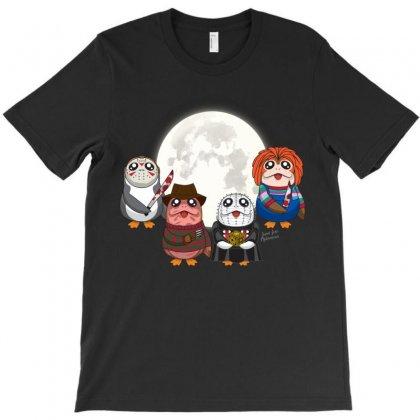 Monster Porgs V2 T-shirt Designed By Alienbiker23