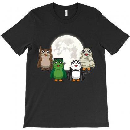 Monster Porgs V1 T-shirt Designed By Alienbiker23