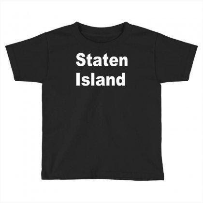 Staten Island Toddler T-shirt Designed By Mdk Art