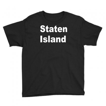 Staten Island Youth Tee Designed By Mdk Art