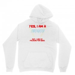 yes i am a firefighter Unisex Hoodie | Artistshot