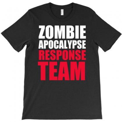 Zombie Apocalypse Response T-shirt Designed By Mdk Art