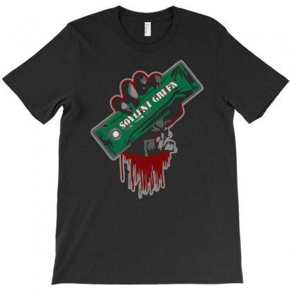 Zombies Soylent Green T-shirt Designed By Mdk Art