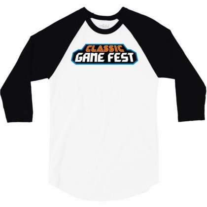 Classic Game Fest 3/4 Sleeve Shirt Designed By Mdk Art