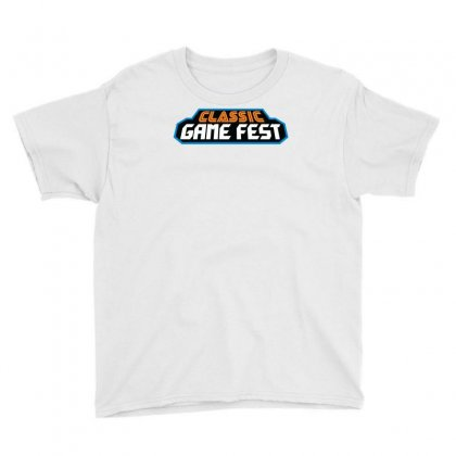 Classic Game Fest Youth Tee Designed By Mdk Art