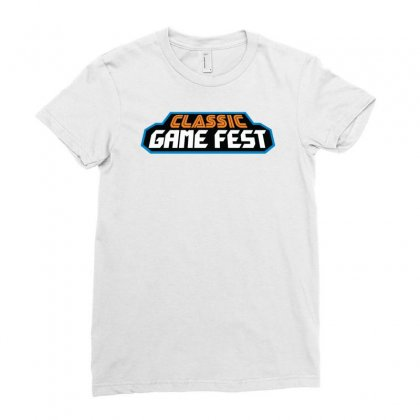 Classic Game Fest Ladies Fitted T-shirt Designed By Mdk Art