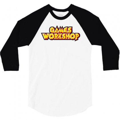 Games Workshop 3/4 Sleeve Shirt Designed By Mdk Art