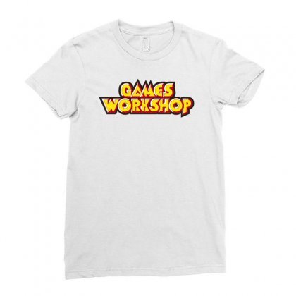 Games Workshop Ladies Fitted T-shirt Designed By Mdk Art