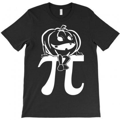 Halloween Pumpkinpi T-shirt Designed By Mdk Art