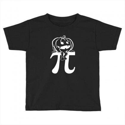 Halloween Pumpkinpi Toddler T-shirt Designed By Mdk Art