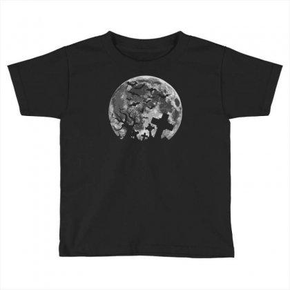 Halloween Toddler T-shirt Designed By Mdk Art
