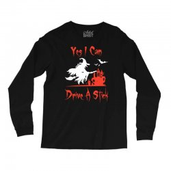 yes i can drive a stick Long Sleeve Shirts | Artistshot