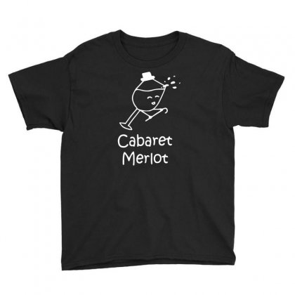 Cabaret Merlot Youth Tee Designed By Mdk Art