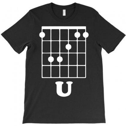 Guitar Shirts F Chord T-shirt Designed By Mdk Art