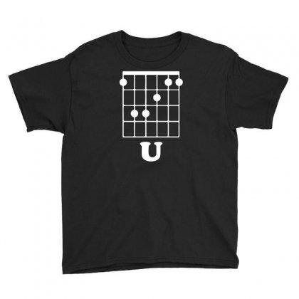 Guitar Shirts F Chord Youth Tee Designed By Mdk Art