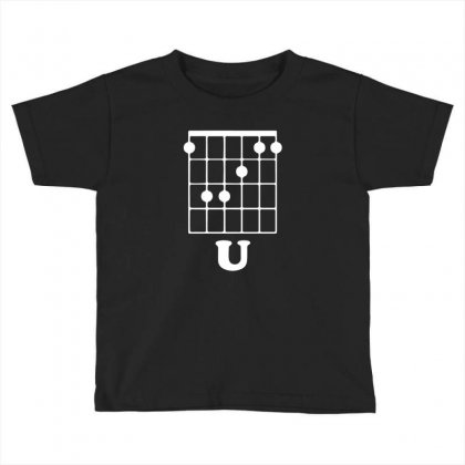 Guitar Shirts F Chord Toddler T-shirt Designed By Mdk Art