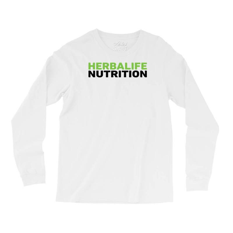 c6b709d0 Custom Herbalife Nutrition Long Sleeve Shirts By Mdk Art - Artistshot