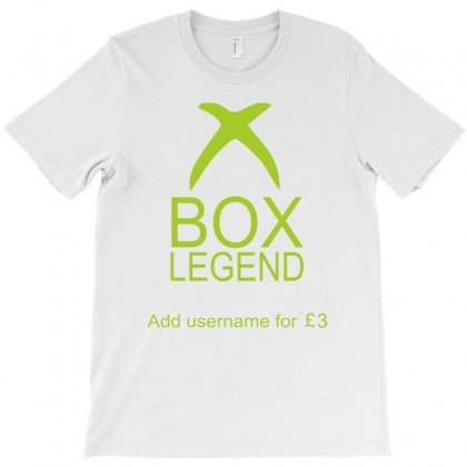 Funny Xbox Legend T-shirt Designed By Mdk Art
