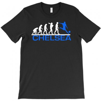 Chelsea Evolution Sports Football Funny T-shirt Designed By Mdk Art