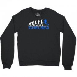 chelsea evolution sports football funny Crewneck Sweatshirt | Artistshot