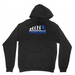 chelsea evolution sports football funny Unisex Hoodie | Artistshot