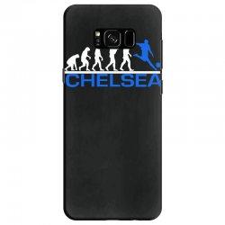 chelsea evolution sports football funny Samsung Galaxy S8 Case   Artistshot