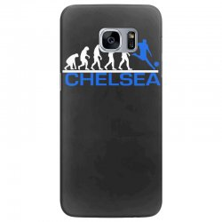 chelsea evolution sports football funny Samsung Galaxy S7 Edge Case   Artistshot