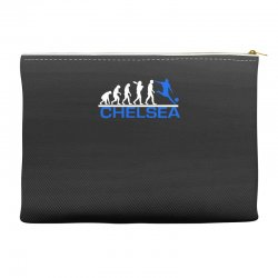 chelsea evolution sports football funny Accessory Pouches | Artistshot