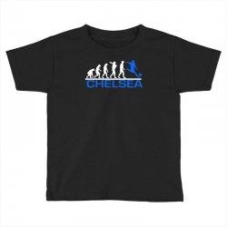 chelsea evolution sports football funny Toddler T-shirt   Artistshot