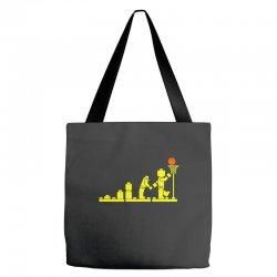 evolution lego basketball sports funny Tote Bags | Artistshot