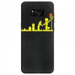 evolution lego basketball sports funny Samsung Galaxy S8 Case | Artistshot