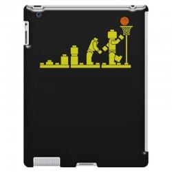 evolution lego basketball sports funny iPad 3 and 4 Case | Artistshot