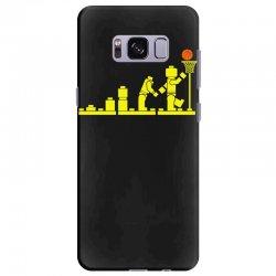 evolution lego basketball sports funny Samsung Galaxy S8 Plus Case | Artistshot