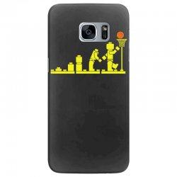 evolution lego basketball sports funny Samsung Galaxy S7 Edge Case | Artistshot