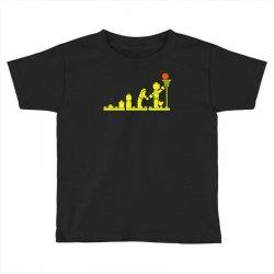 evolution lego basketball sports funny Toddler T-shirt | Artistshot