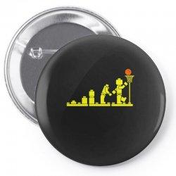 evolution lego basketball sports funny Pin-back button | Artistshot