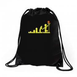 evolution lego basketball sports funny Drawstring Bags | Artistshot